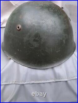 ORIGINAL Italian ww2 M33 Royal navy Helmet