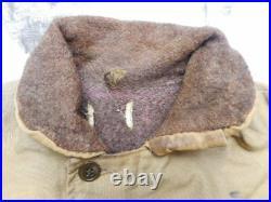 ORIGINAL WW2 USN US NAVY N1 N-1 N 1 DECK JACKET COAT world war two