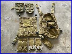 Old Gen Allied Industries MBSS Plate Carrier Kit NSW Navy Seal DevGru MLCS LBT