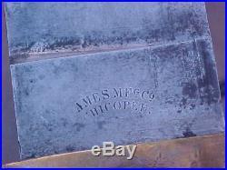 Original CIVIL War Dahlgren Usn Ames 1864 Bowie Bayonet Anchor Proofed