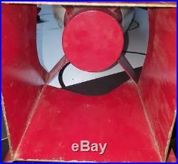 Original Red/white/blue Navy Ww2 Practice Bomb Inert Rare Military History