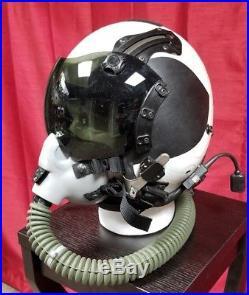 Original US Navy USN Gentex HGU-68/p Tac Air Taped Pilot