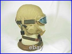 Original WW II U. S. NAVY FLIGHT HELMET