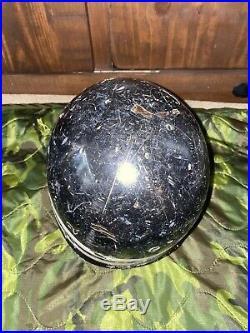Original WW2 US Navy Shore patrol M1 Helmet Liner & SP Armband