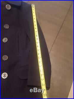 Original WWI US Navy Peacoat 13 Star Buttons & 2 Uniform Sets lot
