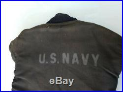 Original and very rare WW 2 USN N1 Deck Jacket Hook and Eye 44/46 chest