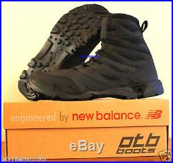 Otb Abyss II Black By New Balance Tactical Mens 8-inch U. S Navy Seals Army Boot