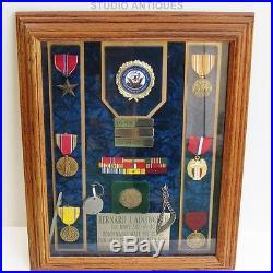 PEARL HARBOR World War II Group BERNARD J. AINSWORTH USS Enterprise US NAVY WW2