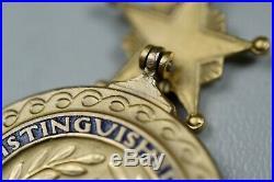 PRE-WWII U. S. NAVY DISTINGUISHED SERVICE MEDAL withSPLIT BROACH