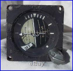 RARE! USN USMC A-4 Skyhawk Stanby Attitude Indicator Gauge Instrument