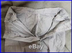 RARE WW2 Korean War Vintage US Navy P-41 HBT Pants Trousers Military Clothes 2