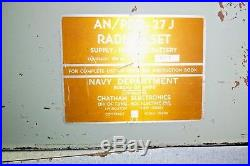 Radiac Meter An / Pdr 27j. With Extras, U. S. Navy, Geiger Counter. Rare