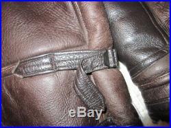 Rare Size 44 American Usn Willis & Geiger M445 Sheepskin Flying Jacket, Anj4, Bike