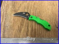 Rare Spyderco Usn Ladybug 3 Lgr3hb Folding Knife