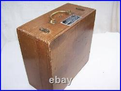 Rare Vintage 1943 Ww2 U. S. Navy Sextant Mk 2 Boxed Pioneer Bendix Aviation Co