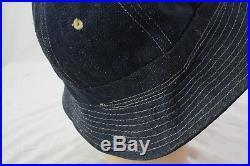 Rare Ww2 Us Navy Daisy May Denim Hat