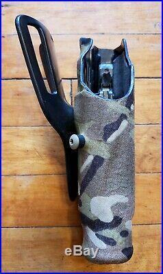 Safariland RH 6390USN 832 701 ALS Multicam Duty Holster, GLOCK 17 22 withlight