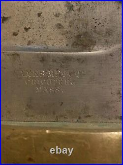 Scarce Original Civil War USN Dahlgren Bowie Bayonet Ames Mfg Co. 1863