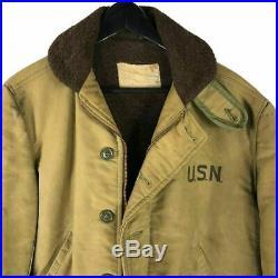 Stenciled US Navy N-1 Deck Jacket