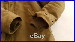 THE REAL MCCOY'S N-1 Deck Jacket KHAKI USN US Navy Sz 38 Real McCoys JAPAN