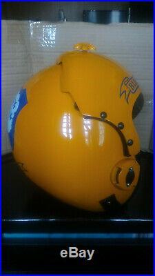 The Blue Angels Flight Helmet Prop Pilot Naval Aviator Usn Navy
