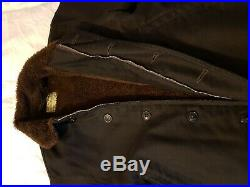 The Real McCoys N-1 Deck Jacket Size 42 USN Dark Navy Mens