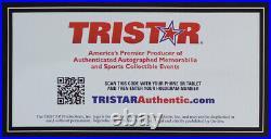 Tom Brady Autographed & Framed Navy Patriots Jersey Auto Tristar COA D21-L