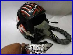 Top Gun Maverick 2020 Flight Helmet Movie Prop Pilot Naval Aviator Usn Navy