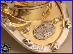 U S Navy Antique Mark V Vintage Marine Deep Sea Steel Divers Diving Helmet