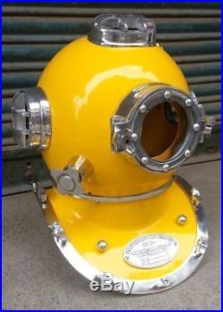 U S Navy Mark V Vintage Antique US Navy Nautical Halloween Gift Diving Helmet