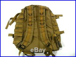 U. S. Navy SEAL DEVGRU 3 Day Assault Pack Coyote Brown MOLLE LBT Eagle