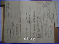 /US NAVY Lot of Documents & Medals for Submariner, 1927 ww2
