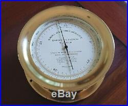 US Navy Barometer ML-448/UM, great companion to Chelsea clock