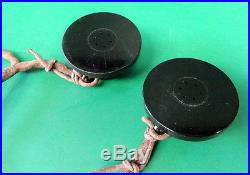 USAAF/USN FLYING HELMET RECEIVERS SET WithANB-H-1- FOR A-11/AN-H-15
