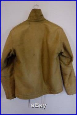 USN US NAVY WWll N-1 Original DECK JACKET Size38