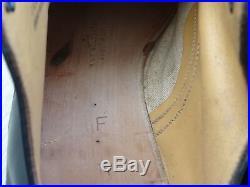 USN / USMC Black Leather Shoes Original WWII 1944 dated