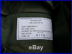 USN USMC USA Helicopter Pilot CMU-33/P22P-18 Survival Vest NEW + sru-40 bottle