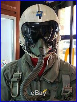 Usn Usmc Hgu-33 Mbu 12/p Fighter Pilot Mannequin F-14 F-18 Complet Suit Museum
