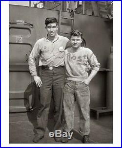 VTG 1940s WW2 WWII USN US NAVY DENIM DUNGAREES JEANS PANTS SZ 31