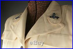 VTG Women's WWII Naval Reserve White Service Dress Uniform #2737 Navy WW2 WAVES