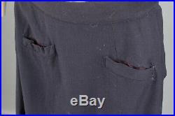 VTG Women's WWII U. S. Naval Reserve Uniform Skirt Suit Sz S #2675 Navy WW2 WAVES