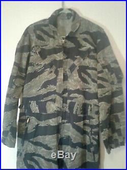 Very Early Tiger Stripe Flight Suit Usmc & Usn Original 1960's Nice Condition MD