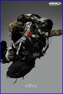 VeryHot 1/6 U. S. NAVY SEAL HALO UDT JUMPER CAMO DRY SUIT Figure NO body head
