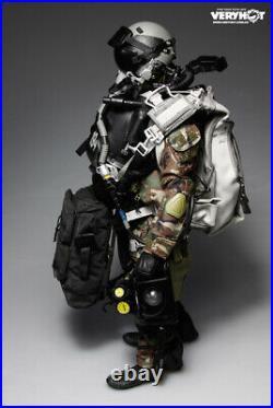 Veryhot 1/6 Scale Action Figure U. S. Navy Seal Halo UDT Jumper Camo Dry Uniform