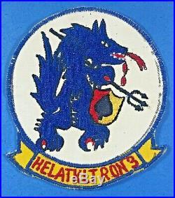 Vietnam War, USN HAL-3 Seawolves, Rare, Excellent Condition, Viet. Made