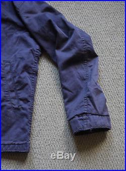 Vintage 1950s Navy Blue USN N-4 Deck Jacket Conmar Zip