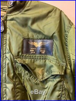 Vintage 60s Vietnam War USAAF USN NAVY WEP Flying Flight Winter Suit Jacket 44L