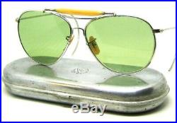 Vintage Pre Ray-Ban USA Aviator WWII Bausch & Lomb USAAF USN AN6531 Sunglasses