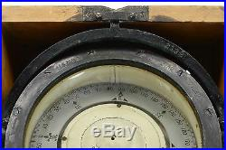 Vintage US NAVY MARK II 6-3/4 CARD COMPASS by LIONEL CORP Nautical WWII c. 1942
