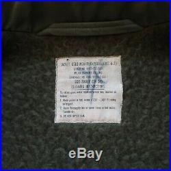 Vintage US Navy USN A-2 Deck Jacket Size S Military Distressed